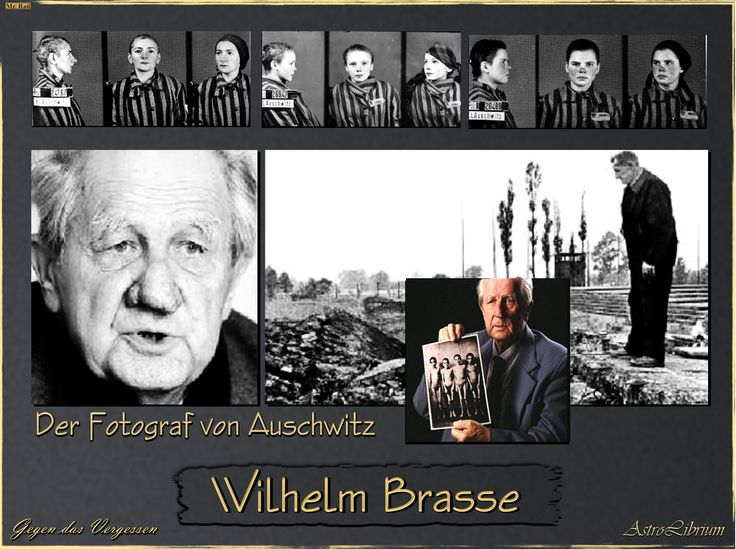 """Wilhelm Brasse(3 December 1917– 23 October 2012) was aPolishprofessional photographer and a prisoner in Auschwitz during World War II. He became known as the """"famous photographer ofAuschwitz"""". Brasse was of mixed Austrian-Polish descent. He learned photography in Katowice at the atelier of his own aunt.After the 1939 Germaninvasion of Poland and occupation of Brasse's hometown...  Read more »"""