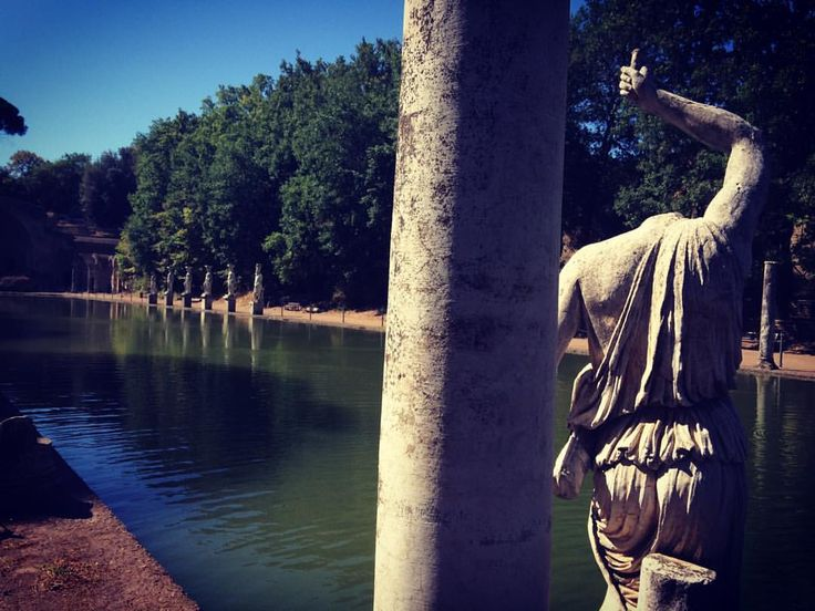 Villa Adriana en Tívoli - Roma: Juan Carlos Gómez (@jcgomvar) en Instagram.