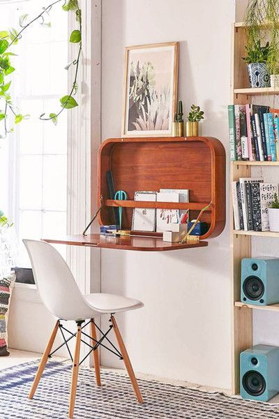 Fold It Up - 30 Small-Space Hacks You've Never Seen Before - Lonny