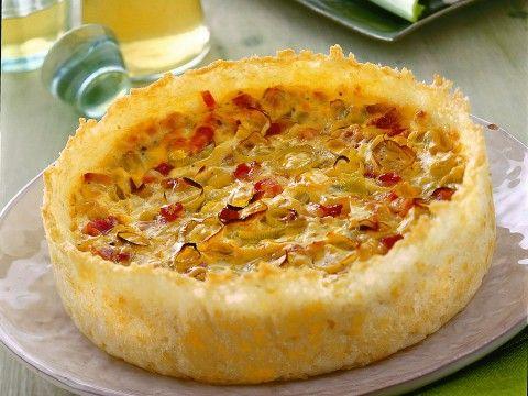 quiche-di-porri-in-crosta-di-riso ricetta