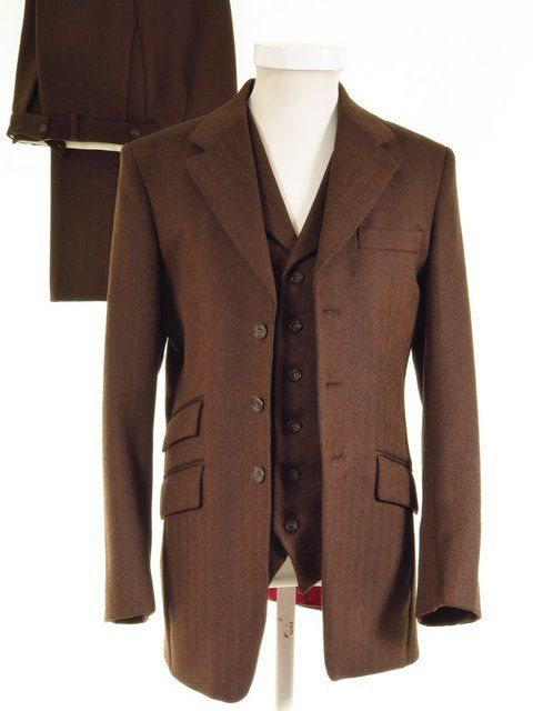 Bookster Tweed 3 PIECE Suit