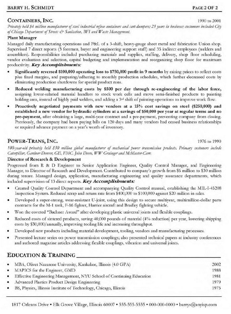 Sample Machinist Resume Cover Letter Heavy Equipment