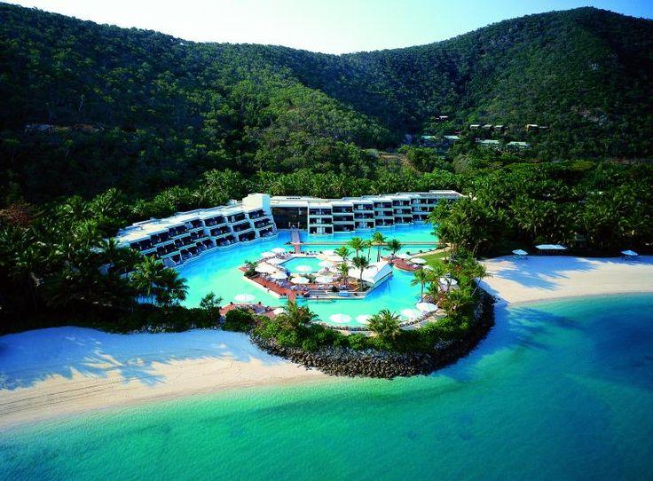 Hayman, Australia, is a private island open to the public