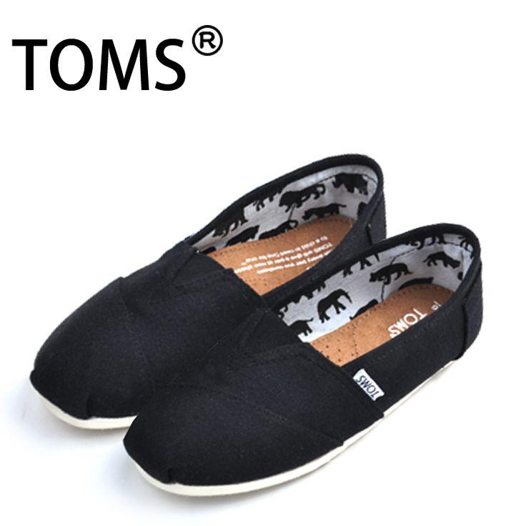 Toms Classic Shoes Canvas Men Black