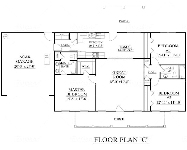 Get Everything You Need Starting At 5 Fiverr Bedroom House Plans House Plans One Story Barndominium Floor Plans