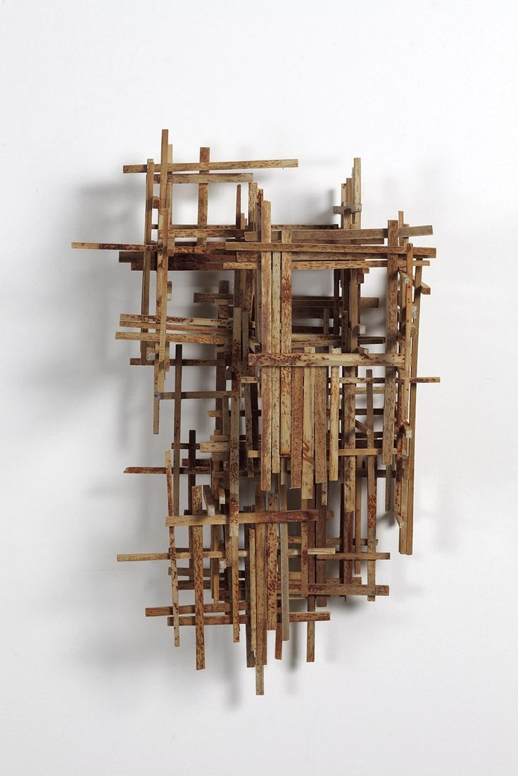 Abandoned, 2012, 43x28x18cm, timber, nails and rust by Jason Fitzgerald