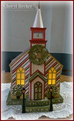 Dragonfly Designs: Winter church...