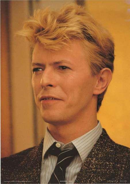 David Bowie 1983 Portrait Poster 25x35