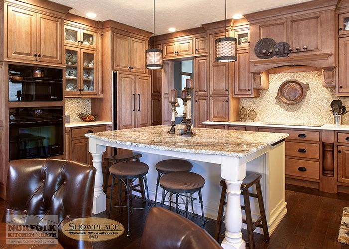 Showplace Cabinets are a high quality kitchen cabinet manufacturer, for a very good value. They manufacturer an all wood box with plywood, and many of the most popular wood species, including Maple Kitchen cabinets. Maple kitchen cabinets have primarily a tight grain wood, with very few knots. Maple is considered a very hard wood that [...]