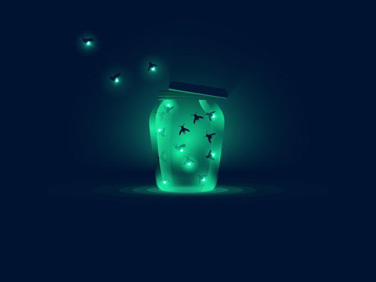 Fireflies Buy Artwork: Society6   RedbubbleFollow me: Dribbble   Twitter   Behance