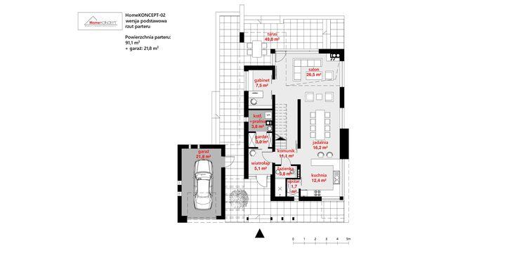 Projekt domu HomeKONCEPT-02 | HomeKONCEPT