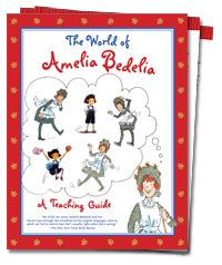 Website with tons of Amelia Bedelia ideas and activities.