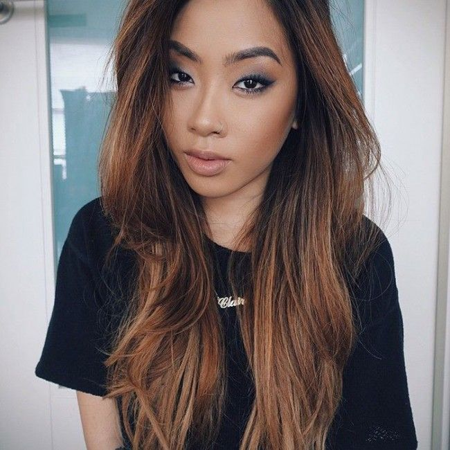 Cinnamon Hair Color Asian Www Pixshark Com Images