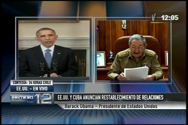 APUNTA LA FECHA: HOY SE ACABÓ EL SIGLO XX. ASÍ FUE COMO ESTADOS UNIDOS Y CUBA RESTABLECIERON RELACIONES.