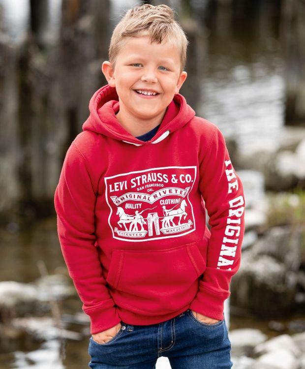 81c3c627 Levi's Horsweat genser | Mørk høst familie | Sweatshirts, Graphic ...