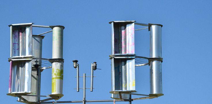 L'éolienne à construire soi-même pour 30 euros. © Lisa Hör