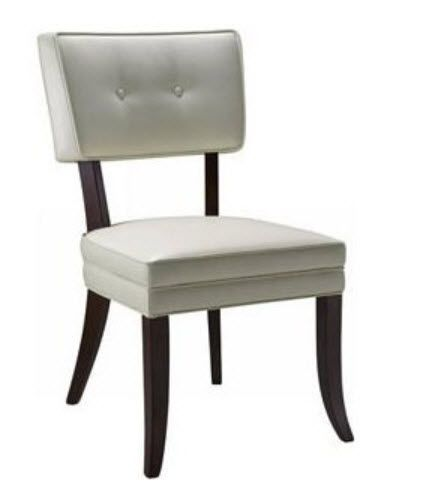 Modern Dining Room Chairs | Modern White Leather Dining Chairs Pictured  Sunpan Modern Home Amelia Part 43