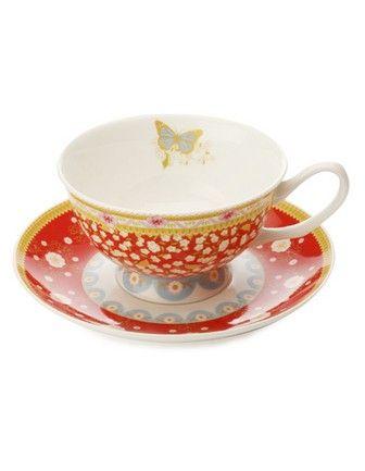 #sweetdreamsmum #mumsgiftguide DIY High Tea MAXWELL & WILLIAMS Cashmere Enchante Veronique cup & saucer