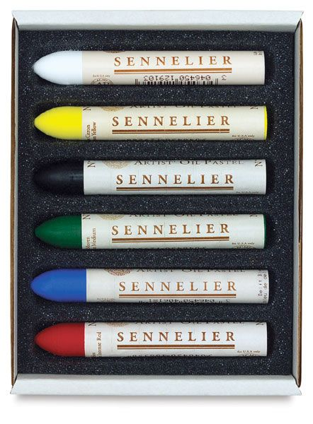 Sennelier Oil Pastels, Set of 6