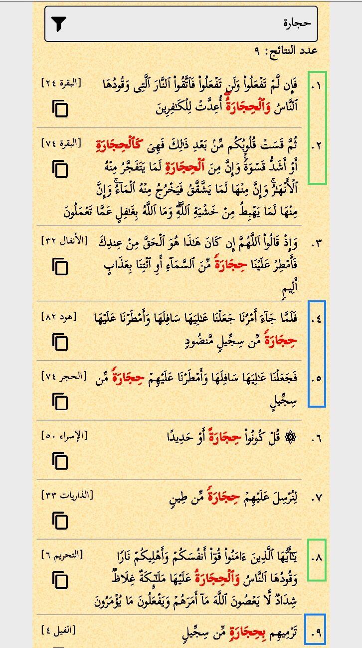الحجارة أربع مرات في القرآن مرتان في آية البقرة ٧٤ حجارة ست مرات الحجر مرتان Sheet Music Music