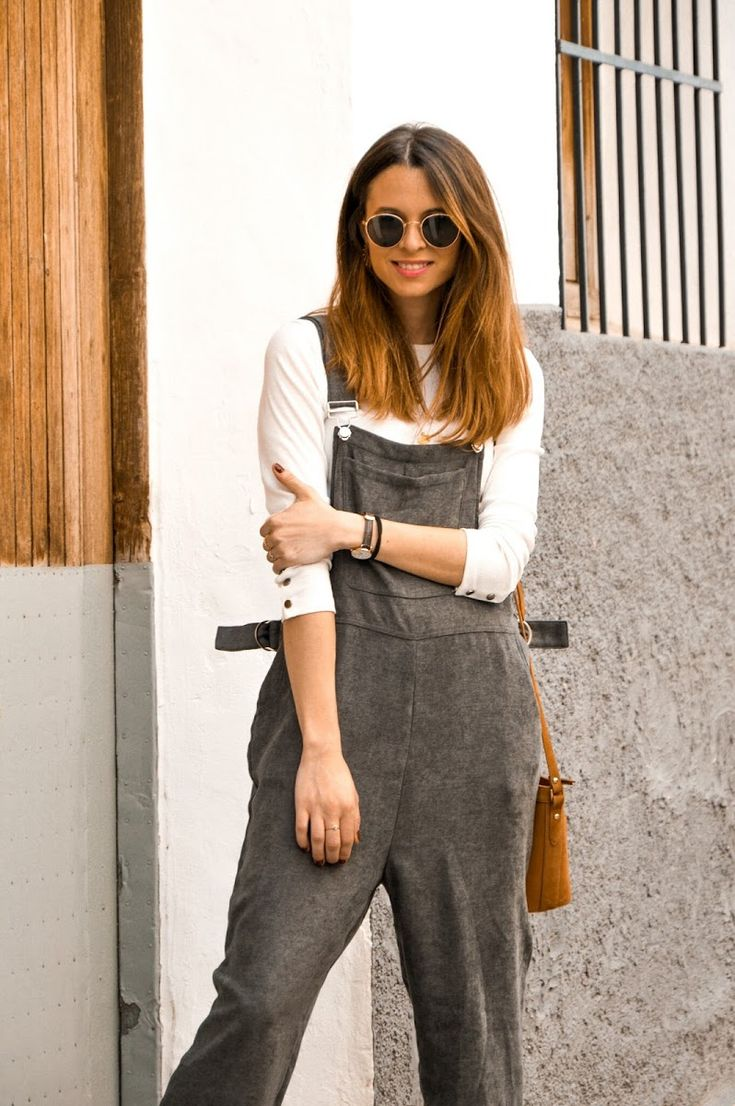 #peto #mono #jumpsuit #grey #gris #casual #look #lookfortime