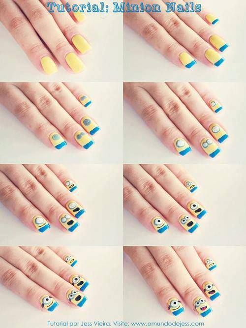 courtesy of STEP by STEP: Nail Arts Made Easy