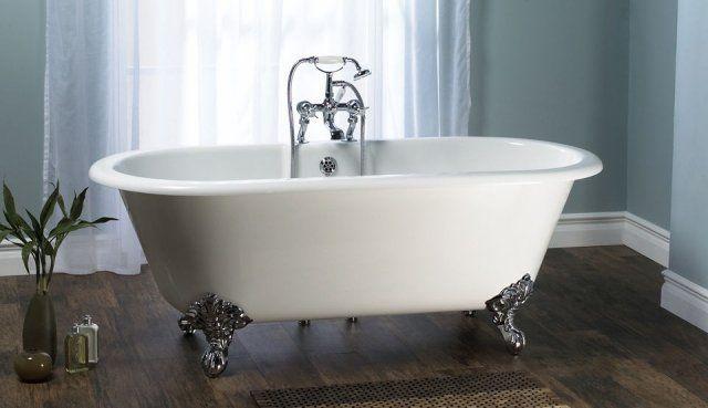 1000 id es sur le th me baignoire en fonte sur pinterest for Peindre une baignoire en fonte emaillee