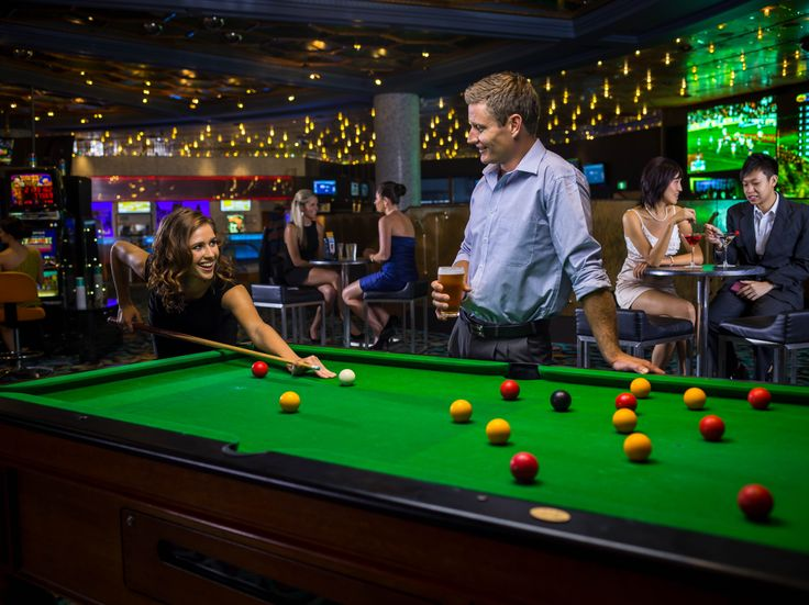 Casino Sports Arena - The Reef Hotel Casino #Pool #Play