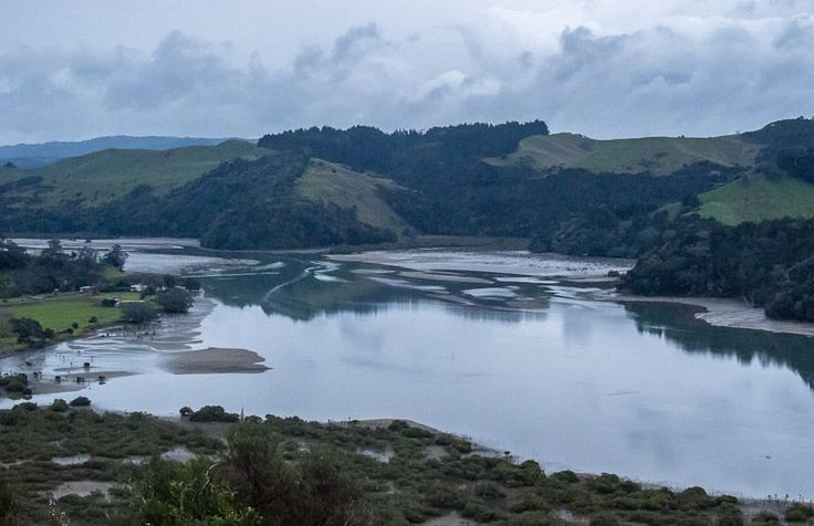 Mouth of The Puhoi River