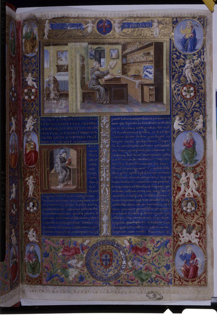 TT-MSMB-A-67_150dpis - «Biblia dos Jerónimos». Florencia, 1495. Cota: Arquivo Nacional da Torre do Tombo, Ordem de São Jerónimo, Mosteiro de Santa Maria de Belém, liv. 67