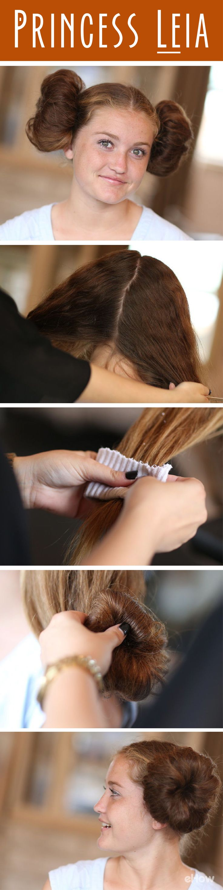 This classic Princess Leia look is easy to do with your own hair! Star Wars is going to be a big this Halloween, so this look is perfect. http://www.ehow.com/how_7654703_do-princess-leias-hair.html?utm_source=pinterest.com&utm_medium=referral&utm_content=freestyle&utm_campaign=fanpage