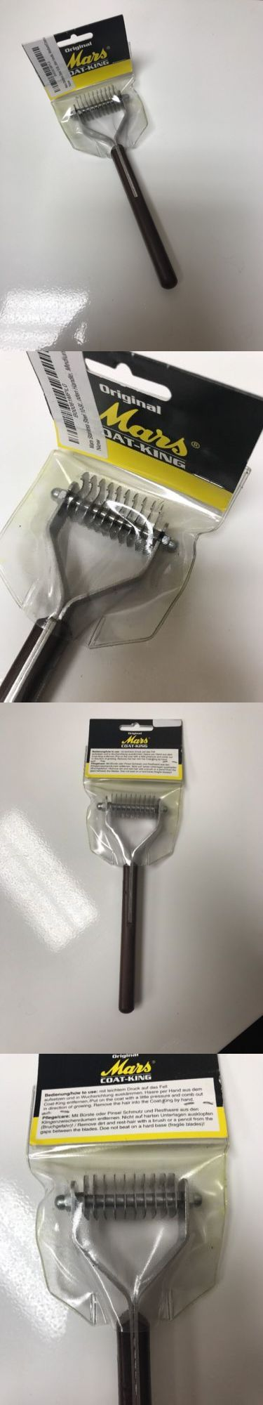 Brushes Combs and Rakes 46305: New Mars Stainless 10-Blade Coat King Pet Hair Stripper Grooming Rake Medium -> BUY IT NOW ONLY: $34.99 on eBay!