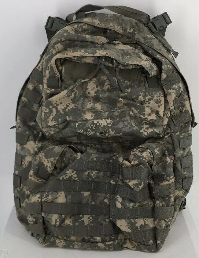 LOT OF 2 ARMY USGI MOLLE Military Surplus Desert Camo Canteen Utility Ammo Pouch