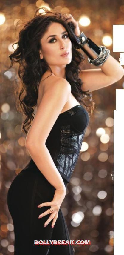 Kareena In Black Magazine Photo Shoot