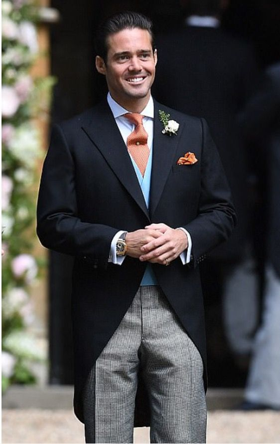 Pippa Middleton's Wedding (Spencer Matthews, Groom's Brother and Best Man)