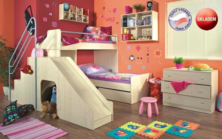 Montero dětské české dřevěné pokoje