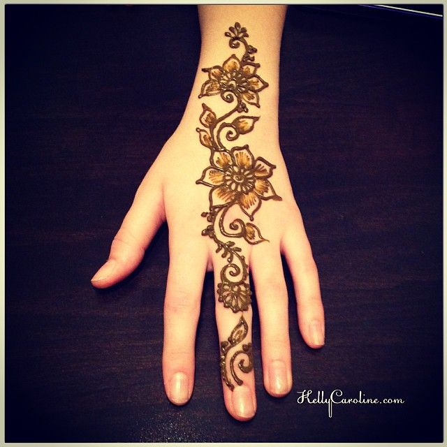Mehndi Flower Quote : Quot a new henna design for the top of hand she asked