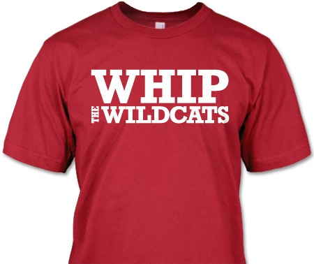 I don't think I'd buy this one since Kansas State athletics are the Wildcats too... even though this one is referencing Northwestern.