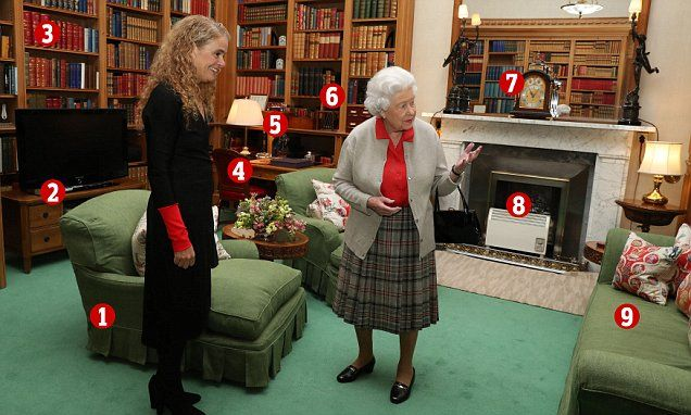 Balmoral photo reveals the Queen's private space #DailyMail