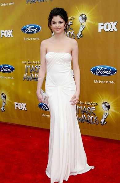 Selena Gomez Actress Selena Gomez arrives at the 41st NAACP Image awards held at The Shrine Auditorium on February 26, 2010 in Los Angeles, ...