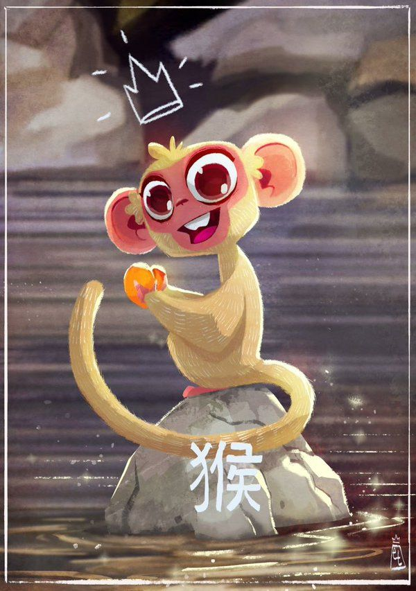 Edwardian Taylor: Monkey for Chinese New Year for Sketch Dailies