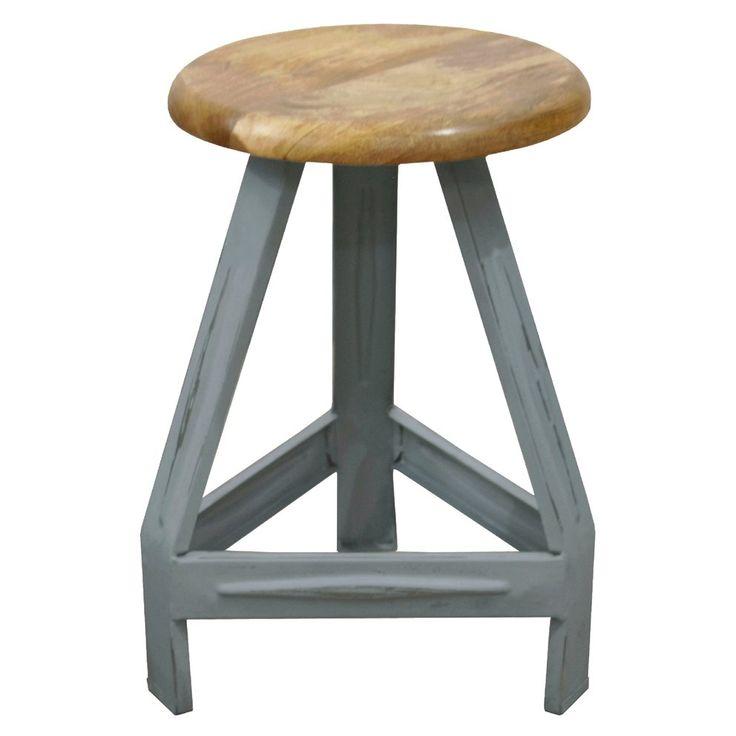 Op zoek naar een krukje dat lekker multi-inzetbaar is? Met de Kidsdepot Pure kruk zit je goed! Aan tafel, in een kring of als tafeltje naast je bed: wat jij wil. Versleten metalen poten en een houten zitvlak: industrieel en vintage. We love it!