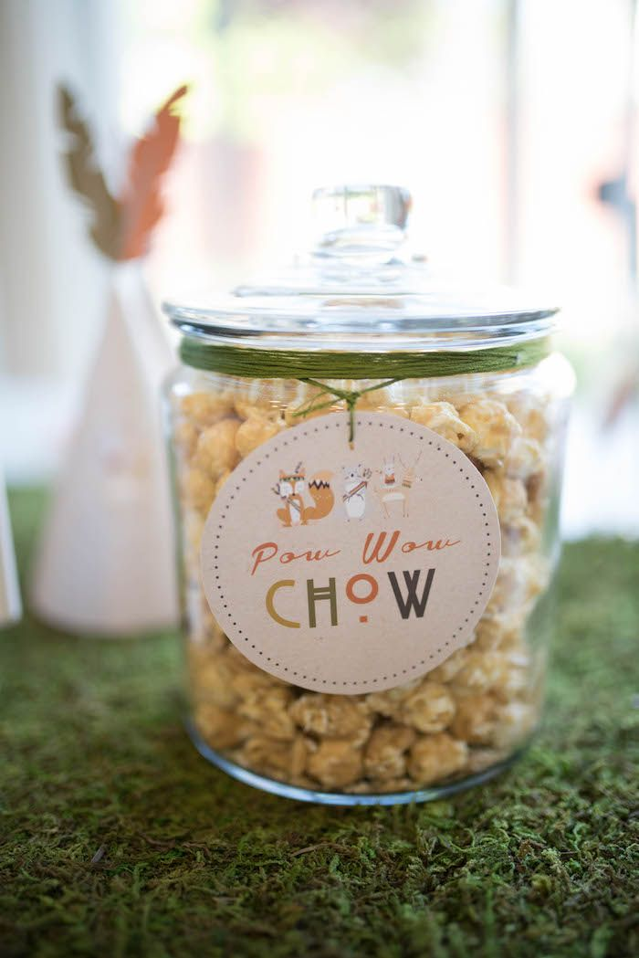 Pow Wow Chow from a Woodland Animal Birthday Party via Kara's Party Ideas KarasPartyIdeas.com (30)