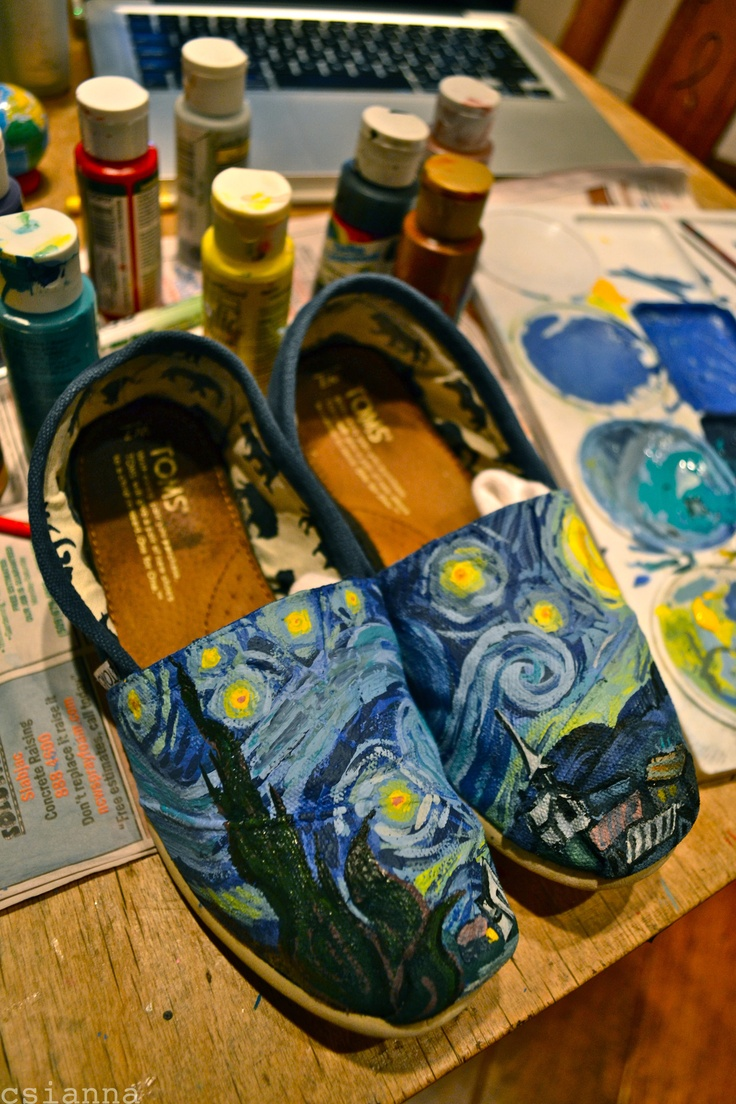 17 best images about starry night cool vans starry starry night shoes i 2012 copy csianna and copy van gogh but i doubt he