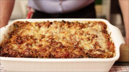 Lasagne met ricotta, spinazie en gerookte zalm - Recept - Allerhande - Albert Heijn