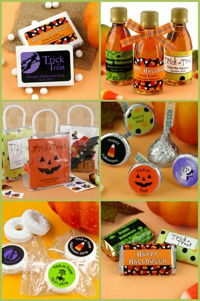Halloween Party Favors from HotRef.com