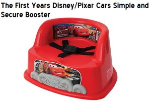 Check my review on First Years Disney Pixar Cars in Simple and Secure Booster from First Years on Kids High Chair Booster Seat for Eating.