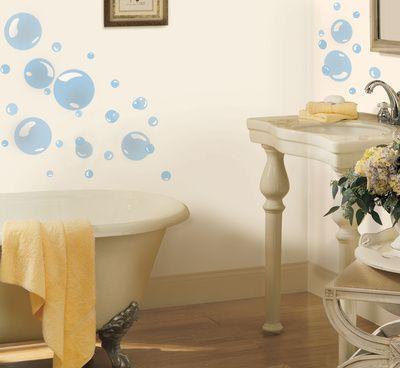 Bubbles Peel & Stick Wall Decals Decalque em parede na AllPosters.com.br