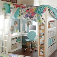i'll be jealous of my kid with this room: Small Bedrooms, Dreams Rooms, Teen Rooms, Girls Bedrooms, Bunk Bed, Loft Beds, Bedrooms Ideas, Girls Rooms, Kids Rooms