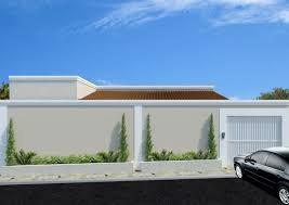Resultado de imagem para muro  fachada residencial altos com viga fora a fora  colonial